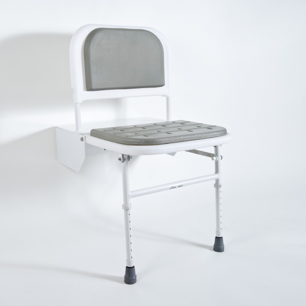 Newstar Doc M shower seat with legs NS.DSS1 Grey