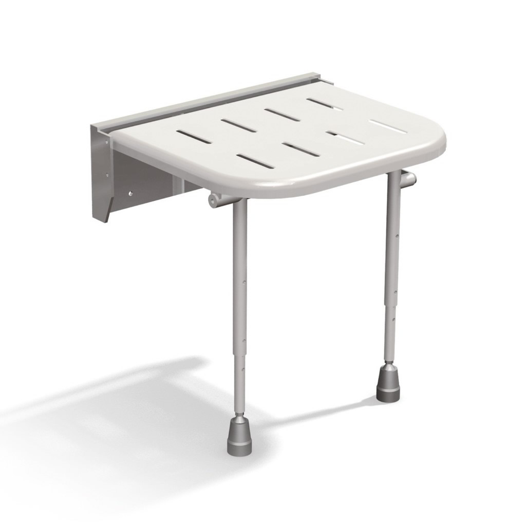 Newstar wall mounted shower seat with legs NS.DSS2
