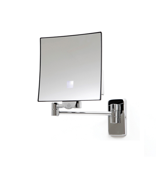 Newstar Battery Operated LED Square Illuminated Mirror NS.MI3