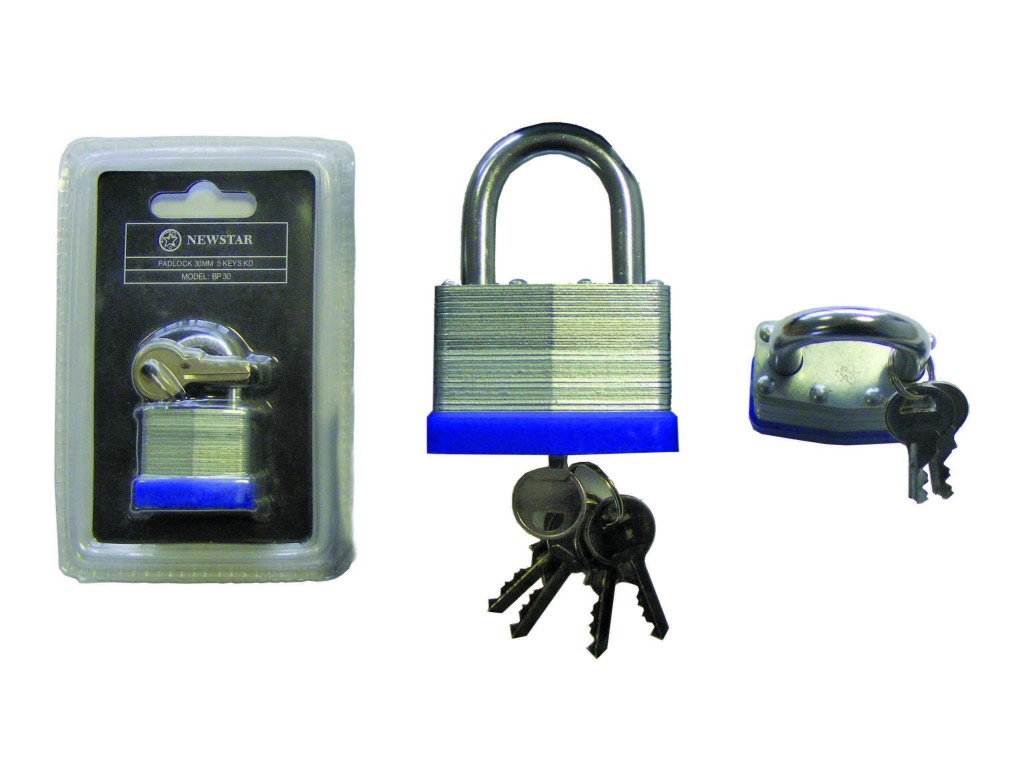 Newstar BP Laminated Standard Padlocks