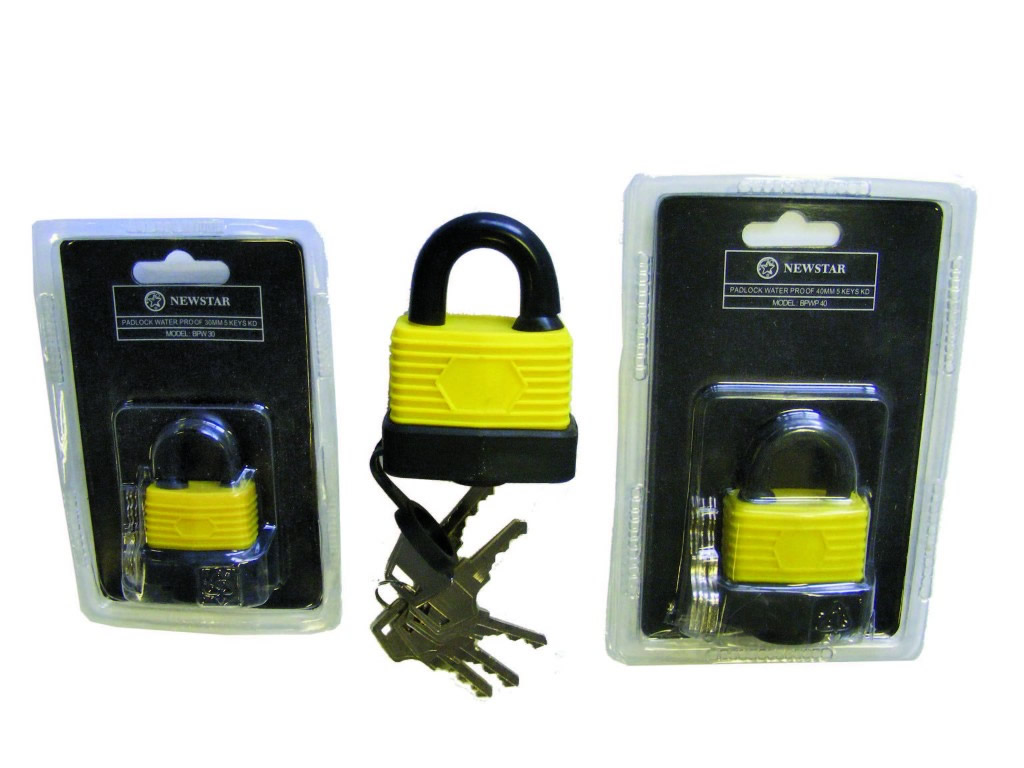 Newstar BPWP Laminated Waterproof Standard Padlock